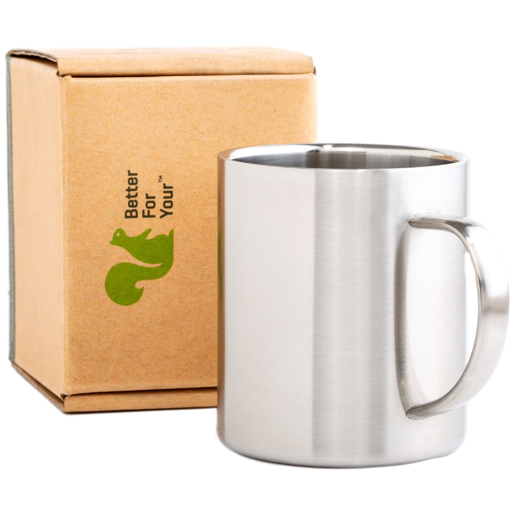 Single Coffee Mug Stainless Steel Better For Your